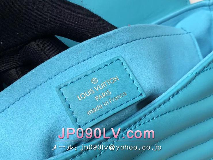ルイヴィトン バッグ コピー M51946 「LOUIS VUITTON」 チェーンバッグ MM ヴィトン レディース ショルダーバッグ ニューウェーブ・レザー 4色可選択 ターコイズ