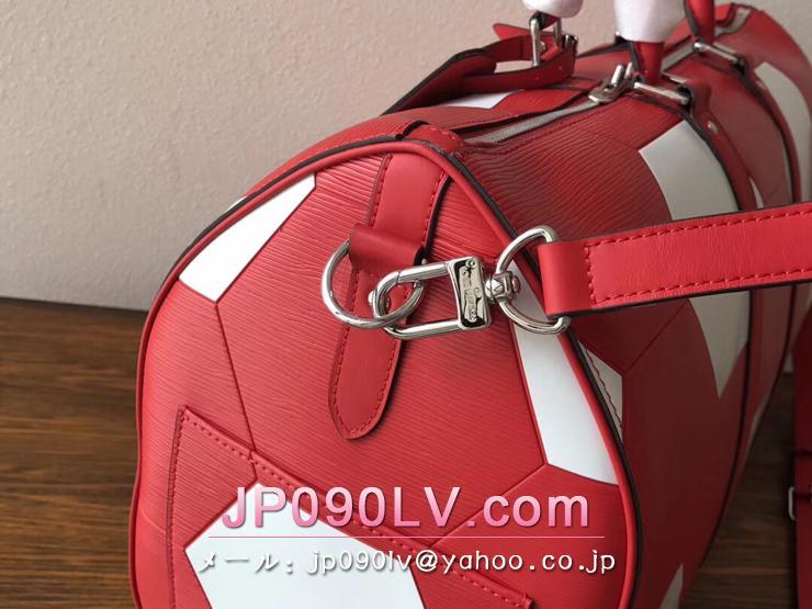 ルイヴィトン エピ バッグ コピー M52121 「LOUIS VUITTON」 キーポル・バンドリエール 50 LV 2018FIFAワールドカップ™ ボストンバッグ  3色可選択 ルージュ