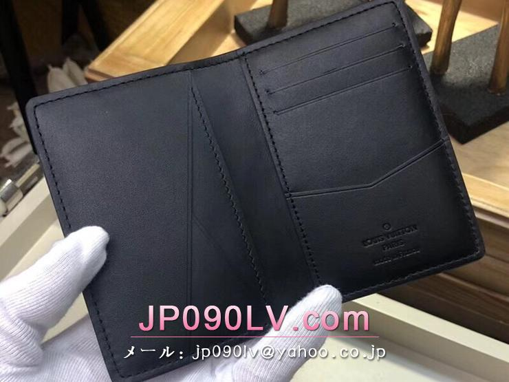 ルイヴィトン モノグラム・シャドウ 財布 コピー M62899 「LOUIS VUITTON」 オーガナイザー・ドゥ ポッシュ ヴィトン メンズ 二つ折り財布