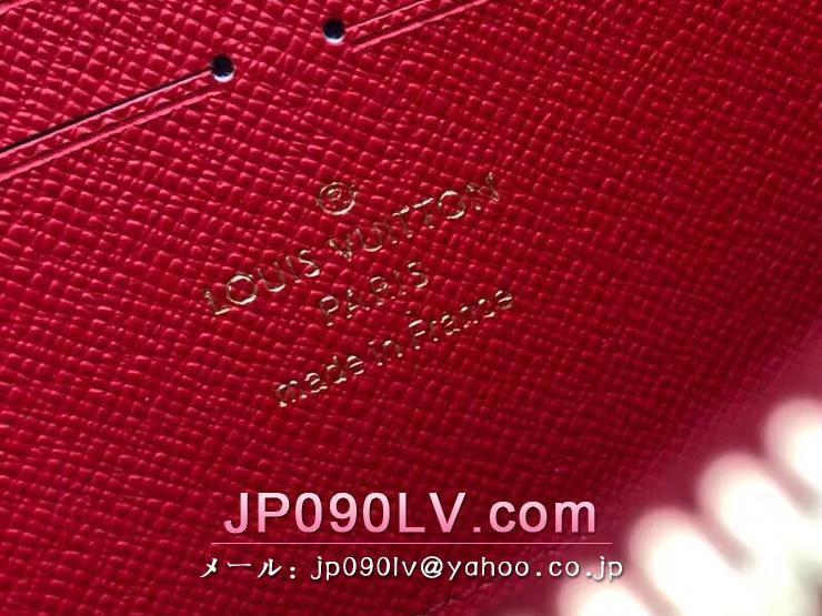 ルイヴィトン ダミエ・エベヌ 財布 コピー N60122 「LOUIS VUITTON」 ジッピー・ウォレット ヴィトン レディース ラウンドファスナー財布