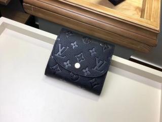 ルイヴィトン モノグラム・アンプラント 財布 スーパーコピー M64148 「LOUIS VUITTON」 ポルトフォイユ・アリアンヌ ヴィトン レディース 三つ折り財布 2色選択可 ノワール