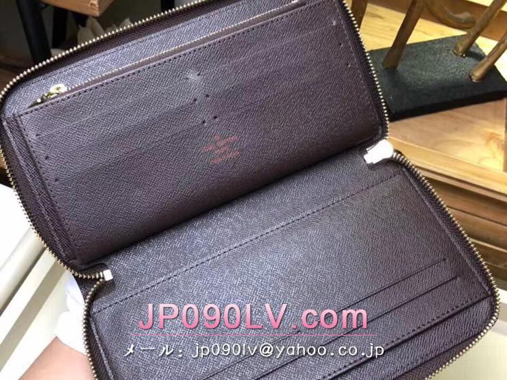 ルイヴィトン ダミエ・エベヌ 長財布 スーパーコピー N63502 「LOUIS VUITTON」 ジッピー・オーガナイザー NM ヴィトン メンズ ラウンドファスナー財布