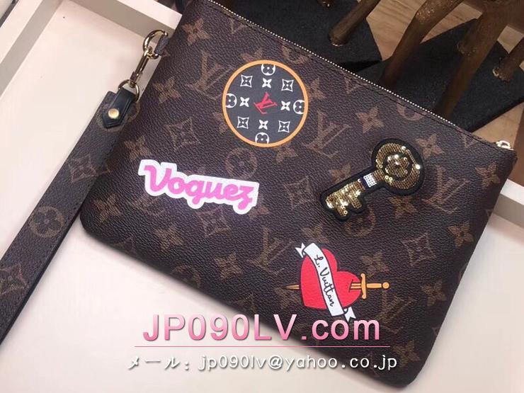 ルイヴィトン モノグラム バッグ コピー M63447 「LOUIS VUITTON」 シティーポーチ ヴィトン レディース クラッチバッグ