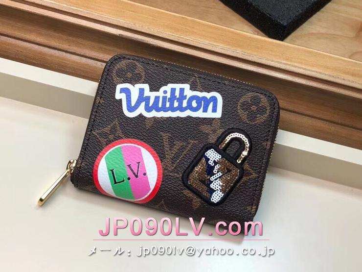ルイヴィトン モノグラム 財布 スーパーコピー M63391 「LOUIS VUITTON」 ジッピー・コイン パース ヴィトン レディース ラウンドファスナー財布