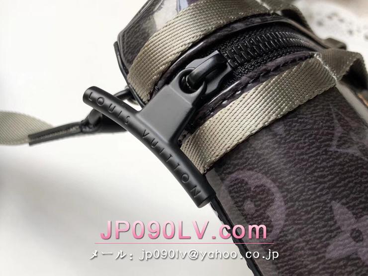 ルイヴィトン モノグラム・エクリプス バッグ コピー M52218 「LOUIS VUITTON」 メッセンジャー PM メンズ ショルダーバッグ