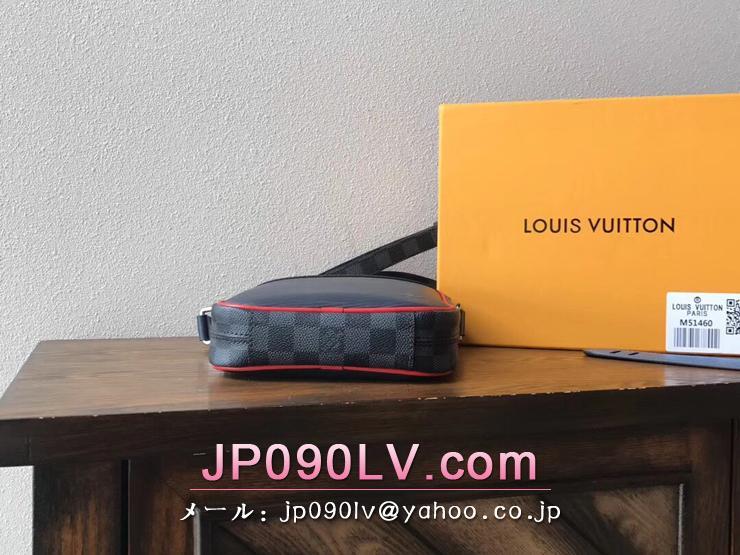 ルイヴィトン エピ バッグ スーパーコピー M51460 「LOUIS VUITTON」 ダヌーヴ PM NM メンズ ショルダーバッグ