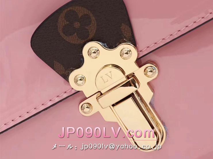 LOUIS VUITTON S級品 ルイヴィトン バッグ コピー M53355-S チェリーウッド PM スムースパテント・レザー&モノグラム レディースバッグ 4色可選択 ローズバレリーヌ