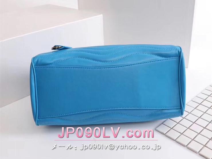 M51497B-S LOUIS VUITTON S級品 ルイヴィトン バッグ コピー チェーントート カーフレザー レディースバッグ 5色可選択 ターコイズ