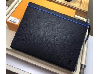 ルイヴィトン タイガ バッグ コピー M30573 「LOUIS VUITTON」 ポシェット・ヴォワヤージュ MM メンズ クラッチバッグ