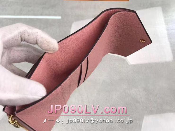 ルイヴィトン モノグラム・アンプラント 財布 コピー M62936 「LOUIS VUITTON」 ポルトフォイユ・ゾエ レディース 三つ折り財布 3色可選択 ローズプードル