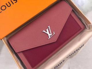 ルイヴィトン カーフ 長財布 コピー M62987 「LOUIS VUITTON」 ポルトフォイユ・マイロックミー ヴィトン レディース 二つ折り財布 4色可選択 ローズブドワール・リドゥヴァン