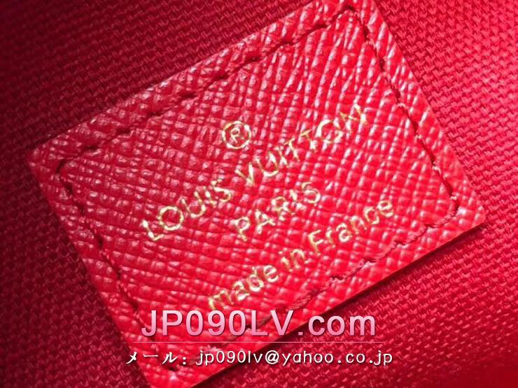 ルイヴィトン ダミエ・エベヌ 長財布 コピー N60129 「LOUIS VUITTON」 ポシェット・フェリーチェ GM レディース チェーン二つ折り財布