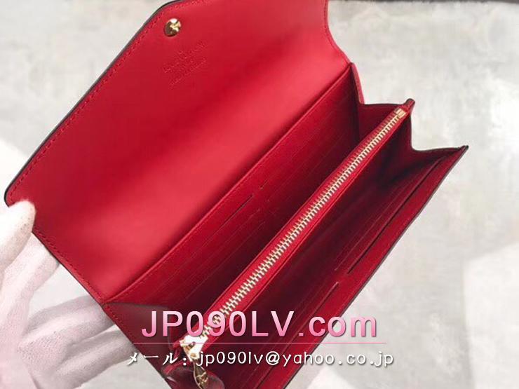 ルイヴィトン モノグラム・ヴェルニ 長財布 スーパーコピー M90208 「LOUIS VUITTON」 ポルトフォイユ・サラ ヴィトン レディース 二つ折り財布 4色可選択 スリーズ