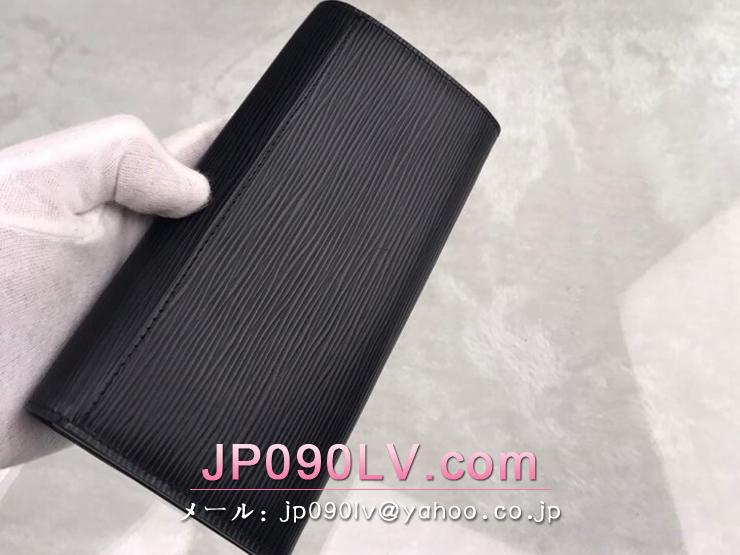 ルイヴィトン エピ 長財布 コピー M60582 「LOUIS VUITTON」 ポルトフォイユ・サラ ヴィトン レディース 二つ折り財布 4色可選択 ノワール