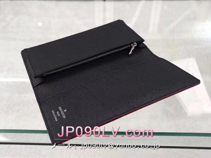 ルイヴィトン ダミエ・グラフィット 長財布 スーパーコピー N60091 「LOUIS VUITTON」 ポルトフォイユ・ブラザ メンズ 二つ折り財布