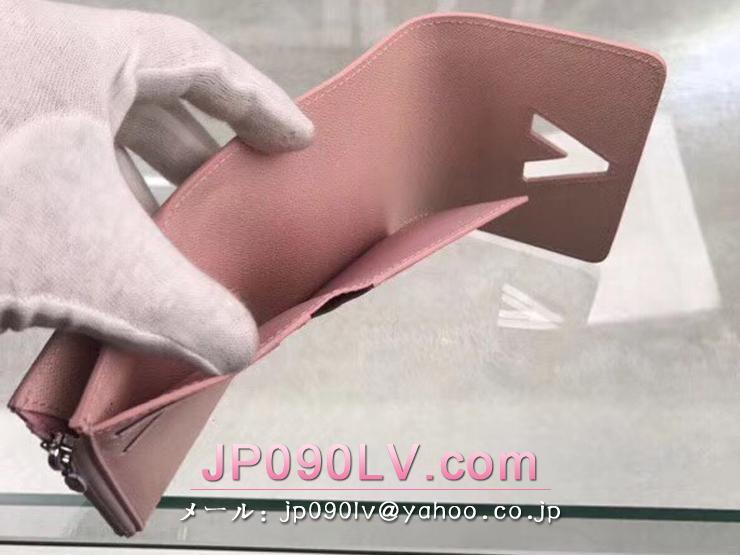 ルイヴィトン エピ 財布 スーパーコピー M62934 「LOUIS VUITTON」 ポルトフォイユ・ツイスト コンパクト ヴィトン レディース 三つ折り財布 4色可選択 ローズ・バレリーヌ