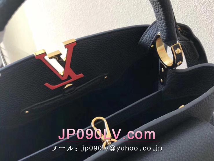 M51384 ルイヴィトン カーフ バッグ コピー 「LOUIS VUITTON」 カプシーヌ PM ハンドバッグ ヴィトン レディース ショルダーバッグ