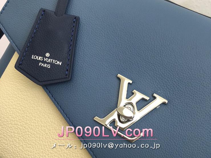 ルイヴィトン カーフ バッグ コピー M51415 「LOUIS VUITTON」 マイロックミー ハンドバッグ レディース ショルダーバッグ 6色可選択 ブルージーン