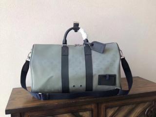 ルイヴィトン モノグラム・サテライト バッグ コピー M44170 「LOUIS VUITTON」 キーポル・バンドリエール 50 メンズ ボストンバッグ
