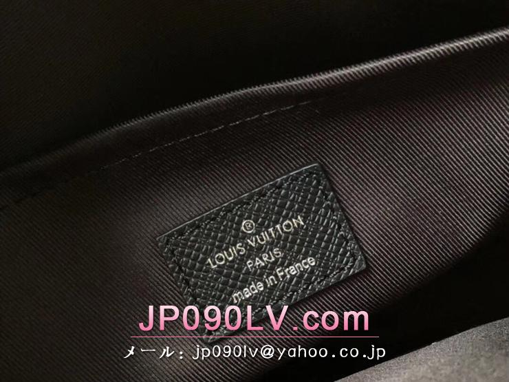 M33435 ルイヴィトン タイガ バッグ スーパーコピー 「LOUIS VUITTON」 アウトドア・メッセンジャー PM メンズ ショルダーバッグ 2色可選択 ノワール