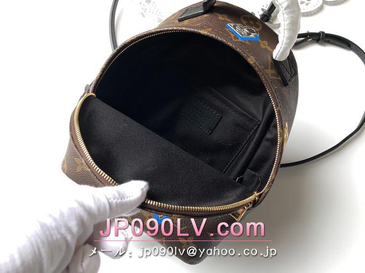 ルイヴィトン モノグラム バッグ スーパーコピー M44367 「LOUIS VUITTON」 パームスプリングス バックパック MINI レディース バックパック