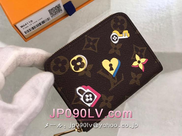ルイヴィトン モノグラム 財布 コピー M64118 「LOUIS VUITTON」 ジッピー・コインパース レディース ラウンドファスナー財布