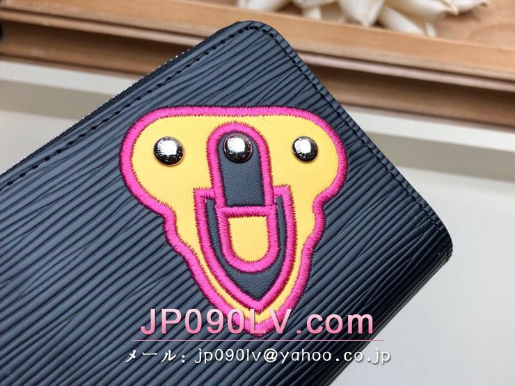 ルイヴィトン エピ 財布 スーパーコピー M63721 「LOUIS VUITTON」 ジッピー・コインパース レディース ラウンドファスナー財布 2色可選択 ノワール