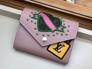 ルイヴィトン エピ 財布 スーパーコピー M63325 「LOUIS VUITTON」 ヴィクトリーヌ・ウォレット レディース 三つ折り財布 ローズバレリーヌ