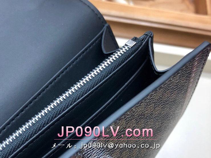 ルイヴィトン ダミエ 長財布 コピー M63778 「LOUIS VUITTON」 ポルトフォイユ・ツイスト その他キャンバス レディース 二つ折り財布