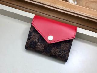 ルイヴィトン ダミエ・エベヌ 財布 スーパーコピー N60166...