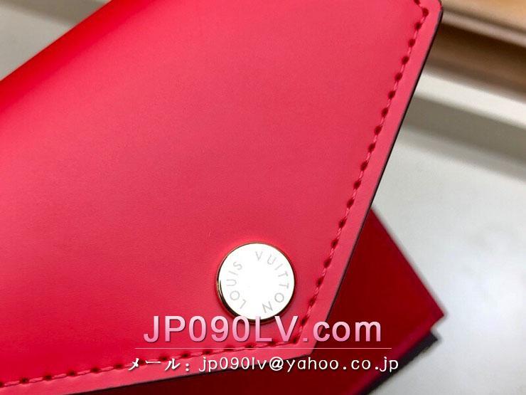 ルイヴィトン ダミエ・エベヌ 財布 スーパーコピー N60166 「LOUIS VUITTON」 ポルトフォイユ・ゾエ ヴィトン レディース 三つ折り財布 2色可選択 コクリコ