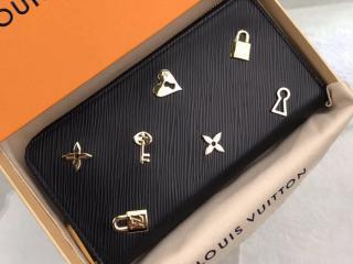 ルイヴィトン エピ 長財布 スーパーコピー M63991 「LOUIS VUITTON」 ジッピー・ウォレット レディース ラウンドファスナー財布