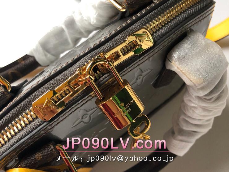 ルイヴィトン モノグラム・ヴェルニ バッグ コピー M44389 「LOUIS VUITTON」 アルマ BB ハンドバッグ レディース ショルダーバッグ