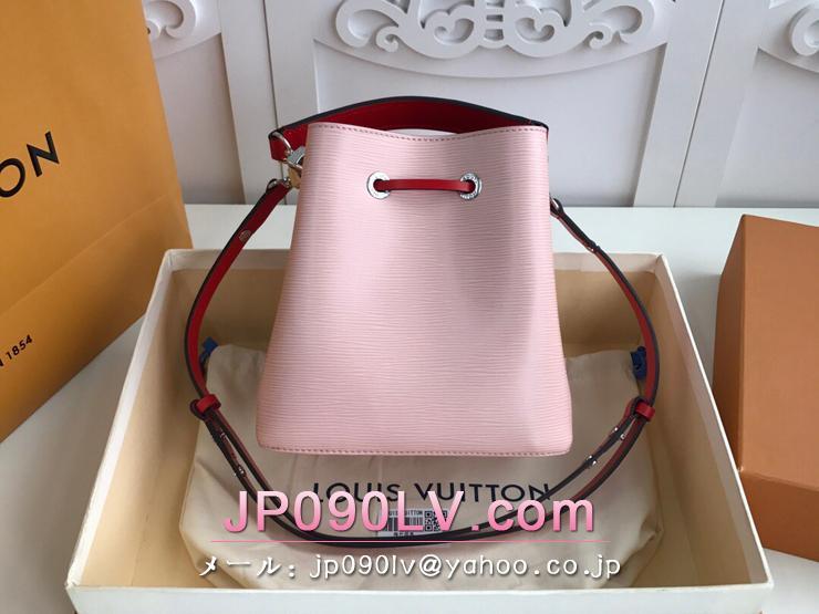 ルイヴィトン エピ バッグ コピー M53609 「LOUIS VUITTON」 ネオノエ BB レディース ショルダーバッグ 4色可選択 ローズバレリーヌ
