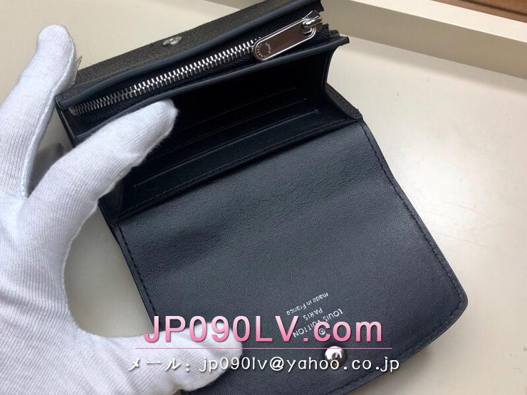 ルイヴィトン マヒナ 財布 スーパーコピー M62540 「LOUIS VUITTON」 ポルトフォイユ・イリス コンパクト レディース 二つ折り財布 4色可選択 ノワール