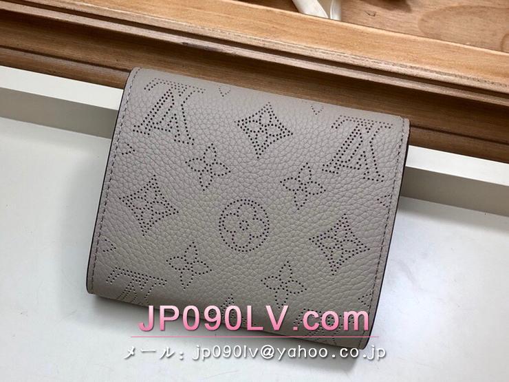 ルイヴィトン マヒナ 財布 スーパーコピー M62542 「LOUIS VUITTON」 ポルトフォイユ・イリス コンパクト レディース 二つ折り財布 4色可選択 ガレ