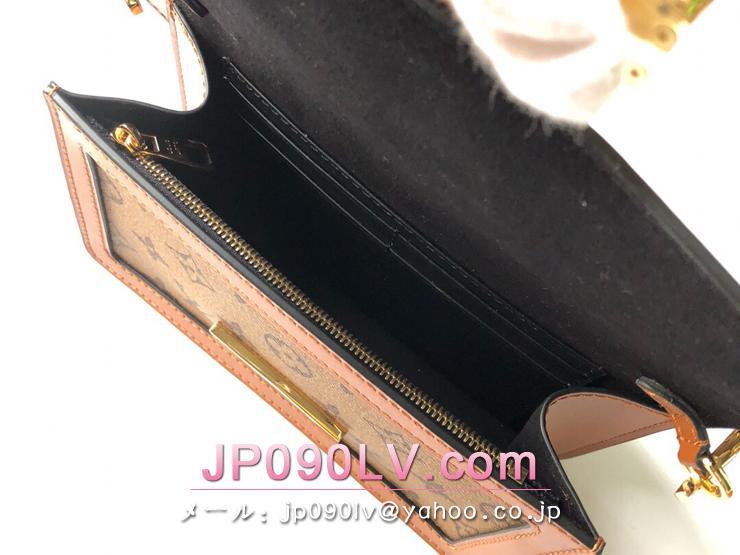 ルイヴィトン モノグラム・リバース バッグ コピー M44586 「LOUIS VUITTON」 バムバッグ・ドーフィーヌ レディース バッグ