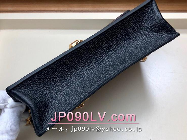 ルイヴィトン ダミエ・エベヌ 財布 スーパーコピー N60221 「LOUIS VUITTON」 ポルトフォイユ・ヴァヴァン チェーン レディース 二つ折り財布 3色可選択 ブラック