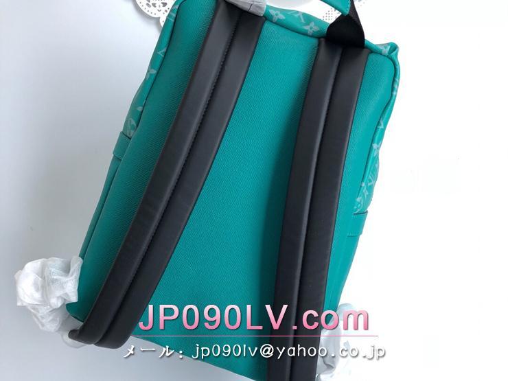 ルイヴィトン タイガ バッグ スーパーコピー M30227 「LOUIS VUITTON」 ディスカバリー・バックパック モノグラム・エクリプス メンズ バックパック ヴェール