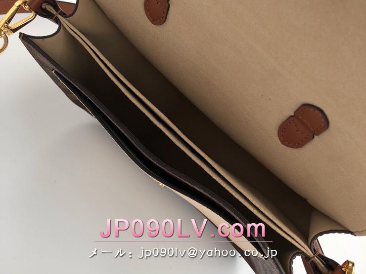 ルイヴィトン ダミエ・エベヌ バッグ コピー N40148 「LOUIS VUITTON」 クロスボディ PM ハンドバッグ レディース ショルダーバッグ 3色可選択 クレーム