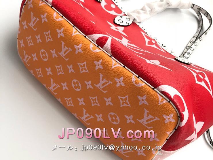 ルイヴィトン モノグラム バッグ コピー M44567 「LOUIS VUITTON」 ネヴァーフル MM トートバッグ レディース ショルダーバッグ 3色可選択 ルージュ
