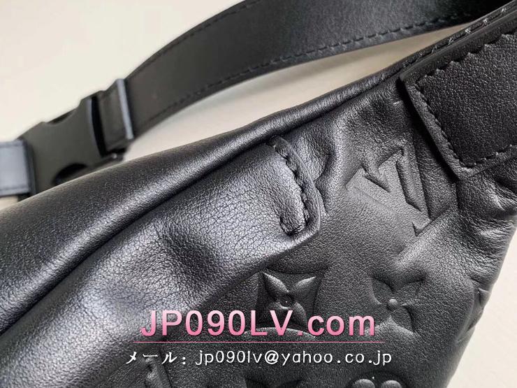 ルイヴィトン モノグラム・シャドウ バッグ スーパーコピー M44388 「LOUIS VUITTON」 ディスカバリー・バムバッグ メンズ ショルダーバッグ
