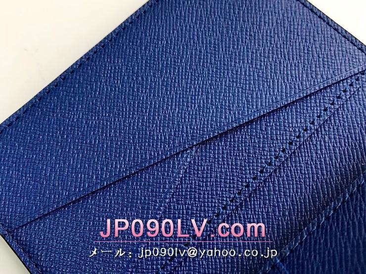ルイヴィトン タイガ 財布 コピー M30301 「LOUIS VUITTON」 オーガナイザー・ドゥ ポッシュ モノグラム メンズ 二つ折り財布 3色可選択 コバルト