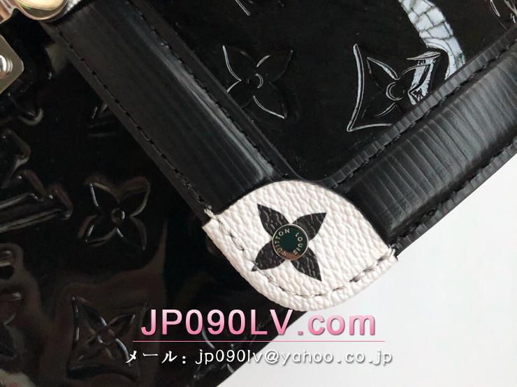 ルイヴィトン モノグラム・ヴェルニ バッグ コピー M90445 「LOUIS VUITTON」 LVワインウッド PM レディース ショルダーバッグ ノワール