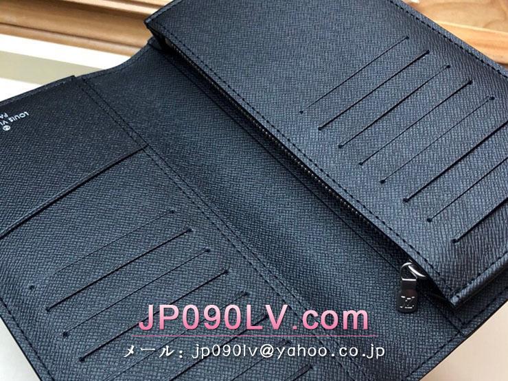 ルイヴィトン モノグラム 長財布 コピー M67823 「LOUIS VUITTON」 ポルトフォイユ・ブラザ メンズ 二つ折り財布 2色可選択 マロン
