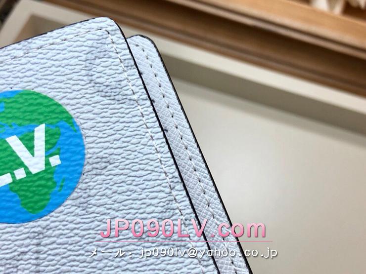 ルイヴィトン モノグラム 財布 コピー M67817 「LOUIS VUITTON」 オーガナイザー・ドゥ ポッシュ メンズ 二つ折り財布 2色可選択 ブロン