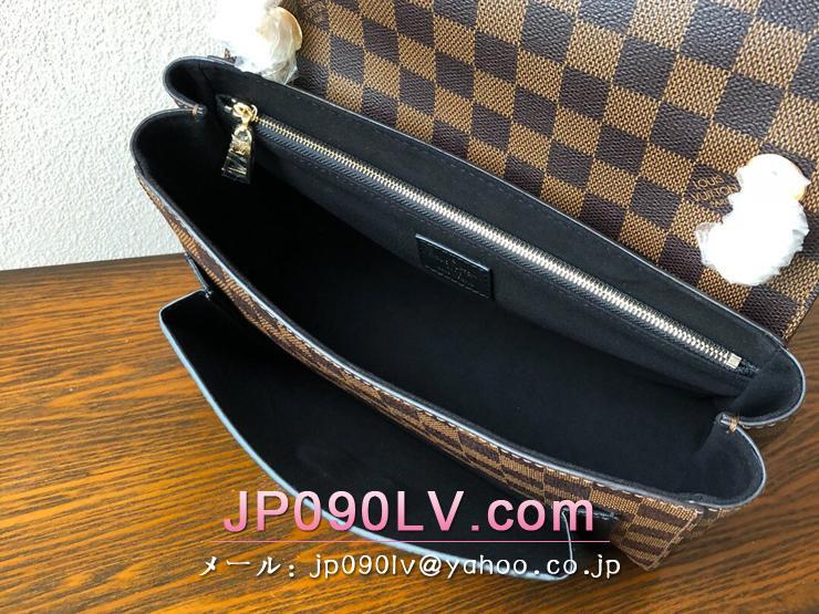 ルイヴィトン ダミエ・エベヌ バッグ スーパーコピー N40108 「LOUIS VUITTON」 ヴァヴァン PM レディース ショルダーバッグ 3色可選択 ノワール