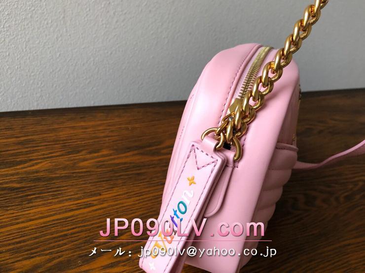ルイヴィトン バッグ コピー M53683 「LOUIS VUITTON」 ルイ・ヴィトン ニューウェーブ ニューカメラバッグ レディース ショルダーバッグ 3色可選択 スムージーピンク