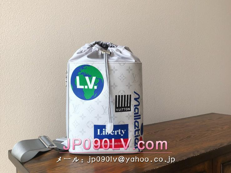 ルイヴィトン モノグラム バッグ スーパーコピー M44629 「LOUIS VUITTON」 チョーク・スリングバッグ メンズ ショルダーバッグ 2色可選択 ブロン