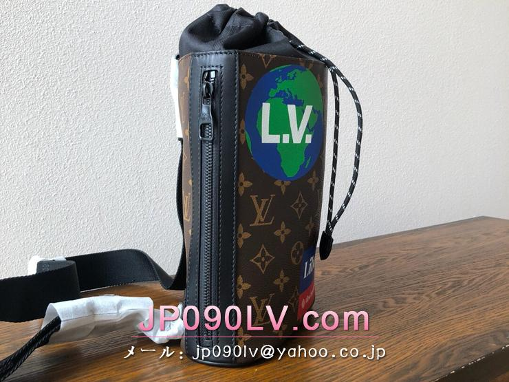 ルイヴィトン モノグラム バッグ コピー M44625 「LOUIS VUITTON」 チョーク・スリングバッグ メンズ ショルダーバッグ 2色可選択 マロン